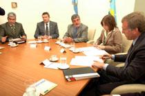 Convenio entre la Fundación para la Investigación del Glaucoma y el Gobierno de la Provincia del Chubut